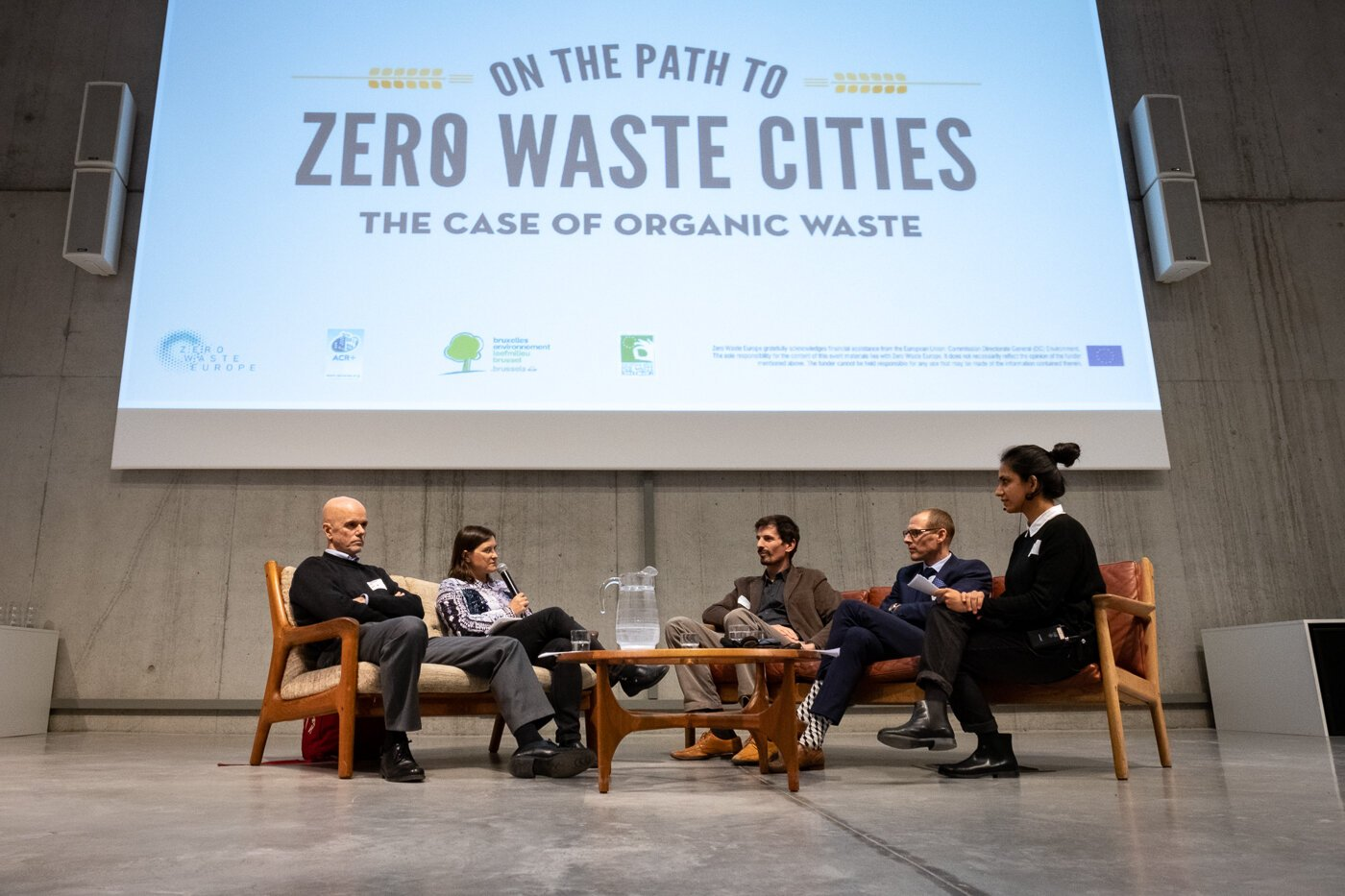 Zero Waste Cities conference, Brussels, 2018. Photo credit: Zero Waste Europe