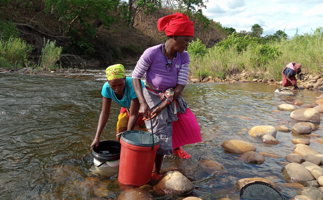 Women and children spend many productive hours gathering fire wood but with safe water available at home they have time to achieve so much more.