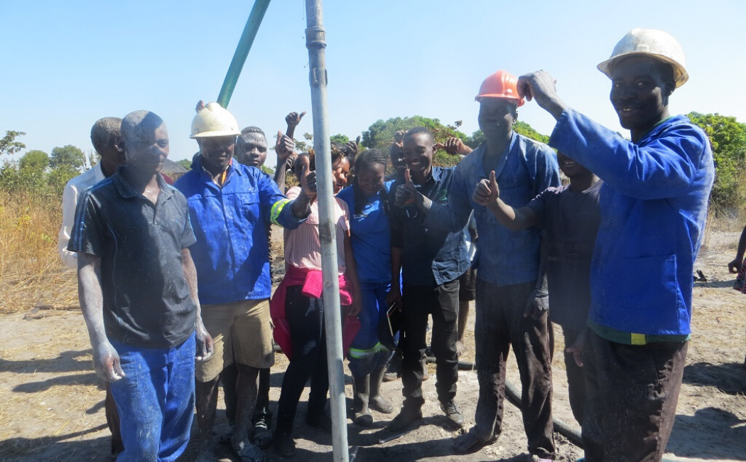 We've helped train 8 independent well construction enterprises so far, this brings more access to safe water and real job prospects for local people